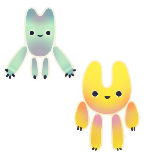 creatures of a very convoluted origin