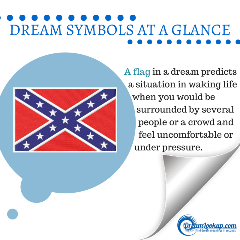 Dreaming About A Flag Not Necessarily Confederate The Meaning Dream Meanings Dream Symbols Dream Interpretation
