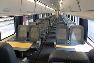 Business Class Seats On Amtrak S Acela Express Travel In