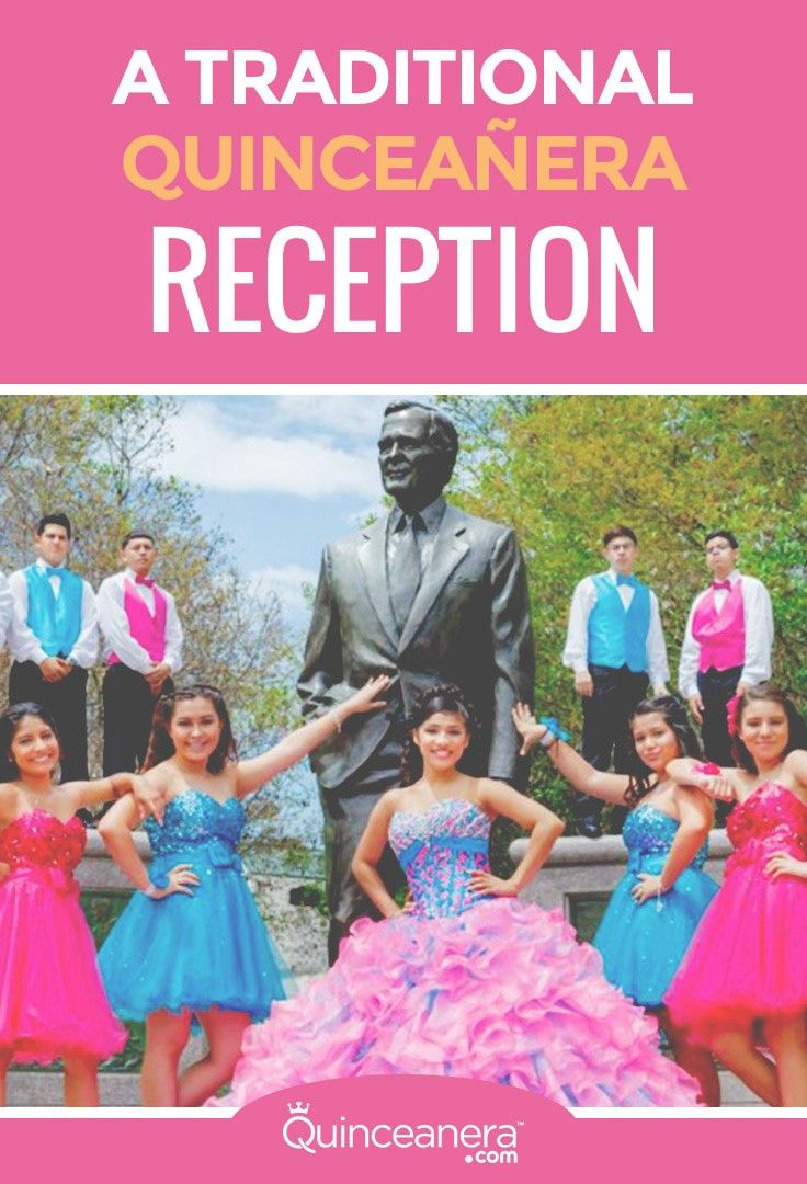 A Traditional Quinceañera Reception: Timeline of Events ...