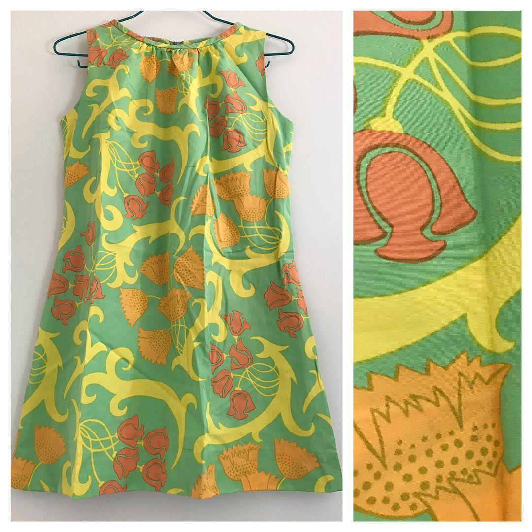 b9ca84eba68d Hemsydd klänning/tunika i tyget