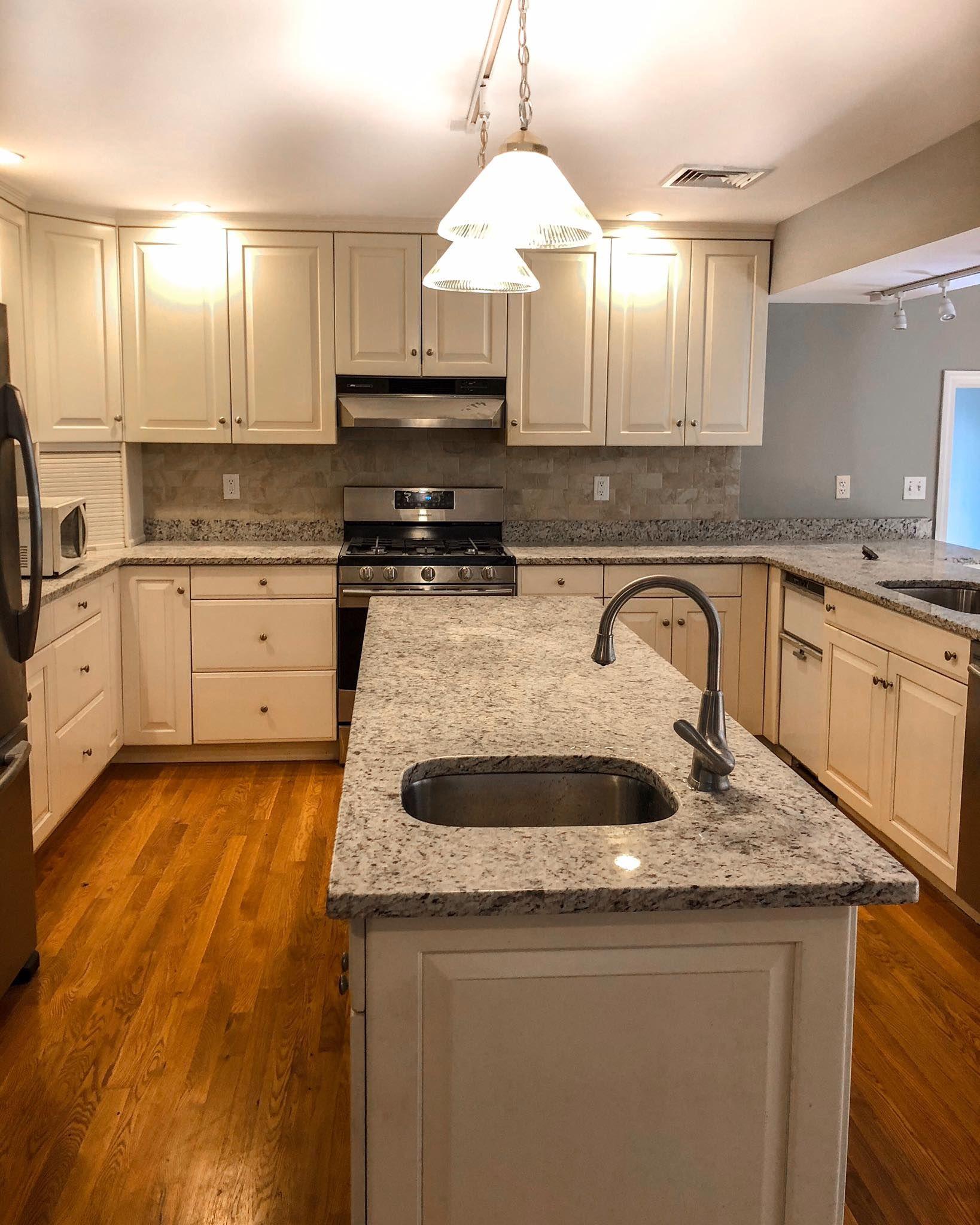 Kitchen Painted In Sudbury Ma Kitchen Cabinets Refinishing Cabinets Kitchen
