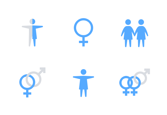 Leto Gender Identity Icons By Laura Reen Gender Identity Identity Best Icons