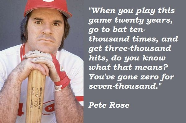 Pete rose quotes on betting l histoire du bitcoins