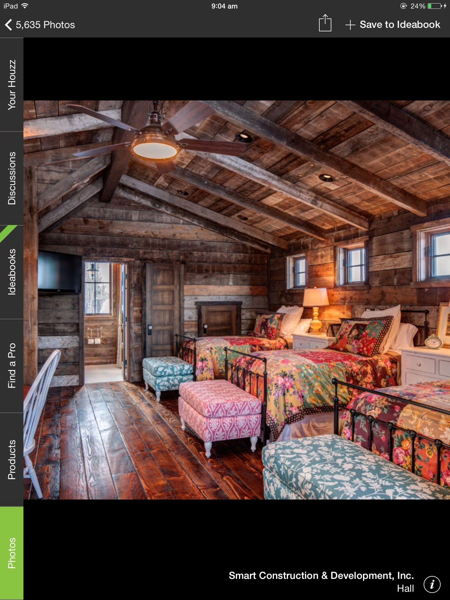 The perfect sleepover room