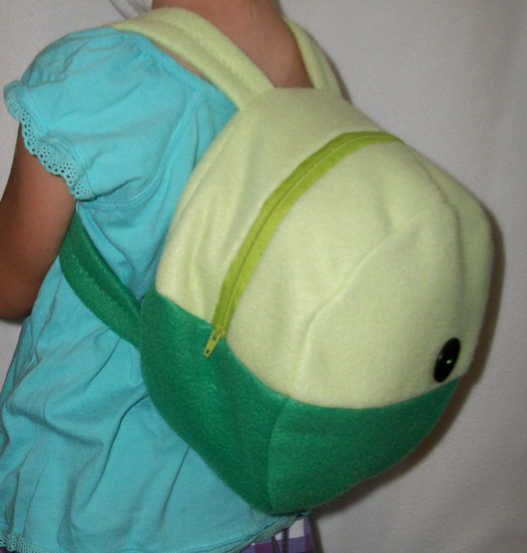 Adventure Time Finn Or Fionna Backpack. $35.00, Via Etsy