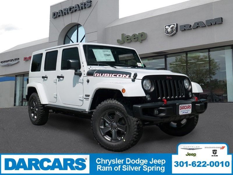 Awesome New 2017 Jeep Wrangler Unlimited, From DARCARS Chrysler Dodge Jeep RAM Of Silver  Spring In Silver Spring, MD, Call For More Information About This SUV,