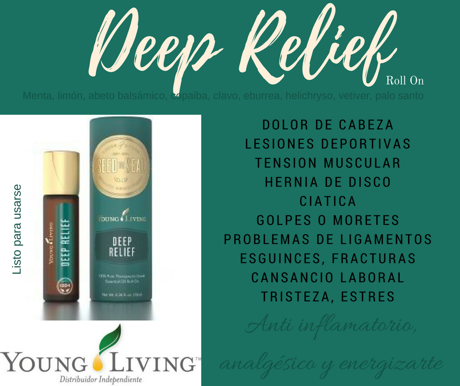 Image result for deep relief young living