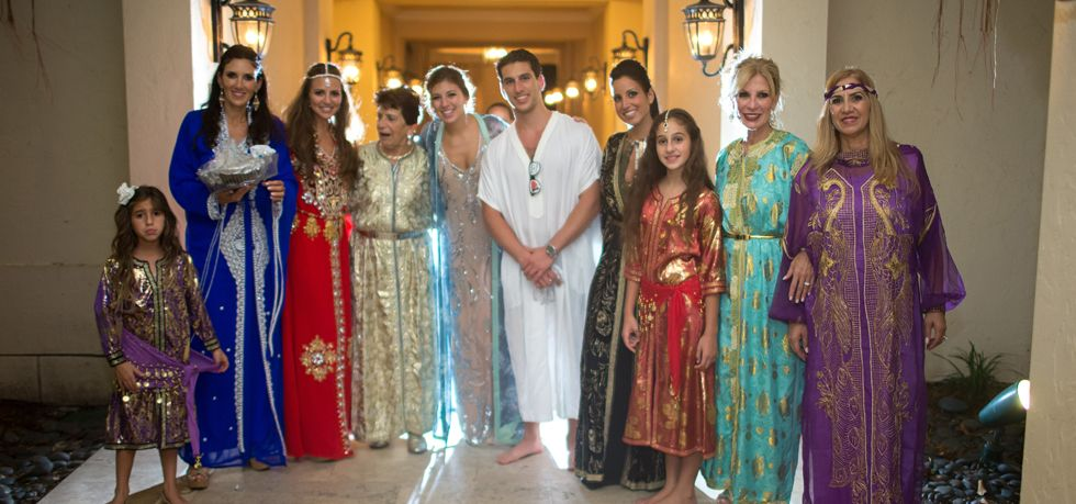 Jewish Henna Linzievents Planned Family In Traditional Attire