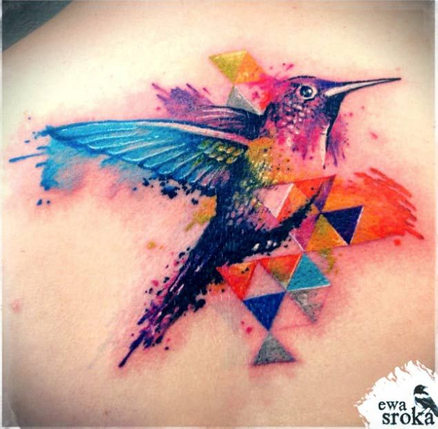 48 Greatest Hummingbird Tattoos of All Time
