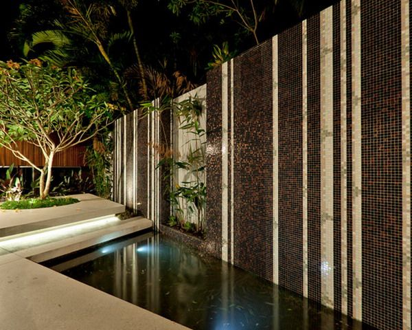 Nice Look of Outdoor Glass Mosaic Wall Tiles Interior