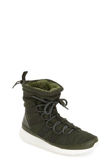 20dd58377d1268 Nike  Roshe One Hi  Water Resistant Sneaker Boot (Women) available at   Nordstrom