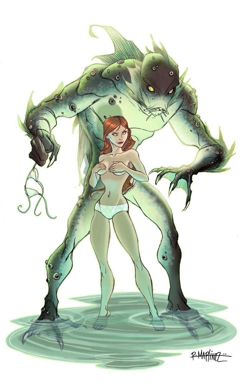 Creature from the Black Lagoon remake by *DaveGrasso on deviantART ...
