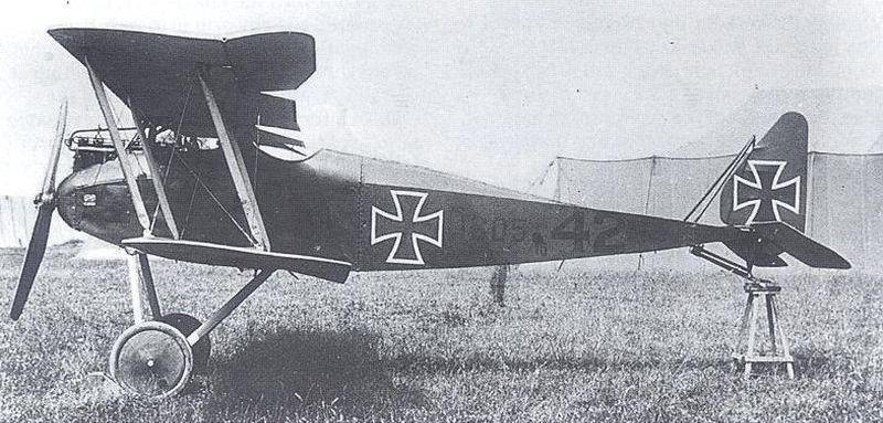 Halberstadt D.II (Aviatik) no. 605/16 | Biplane, Wwi, Ww1 aircraft