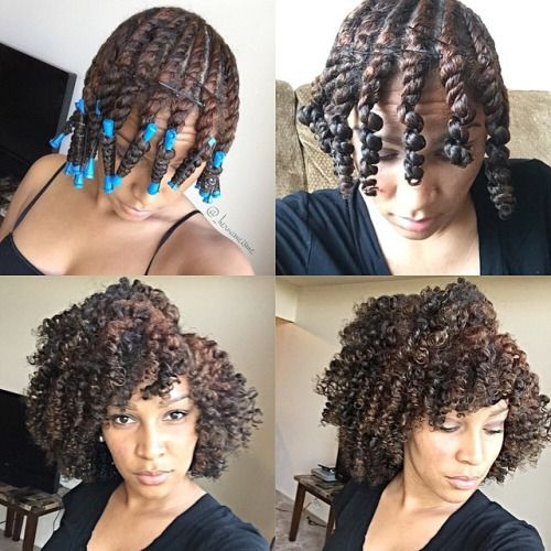 how to style curly permed hair hernameisme results from yesterday s flat twist with 4964