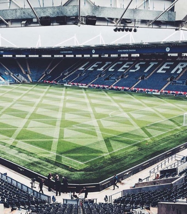 Leicester City Pitch Pattern