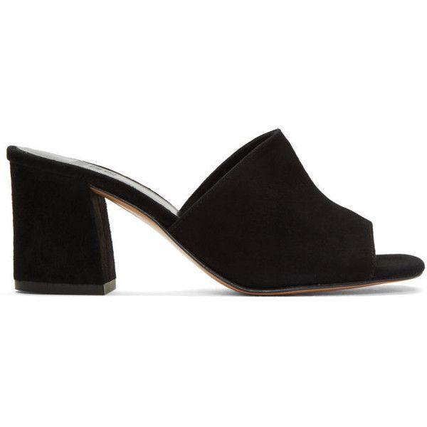 shoes heels, Black block heel sandals