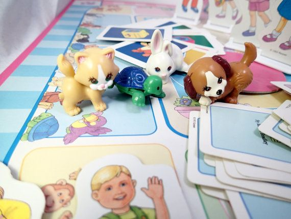 Littlest Pet Shop Board Game LOVED this game. Always wanted to go next door and play with my neighbor.