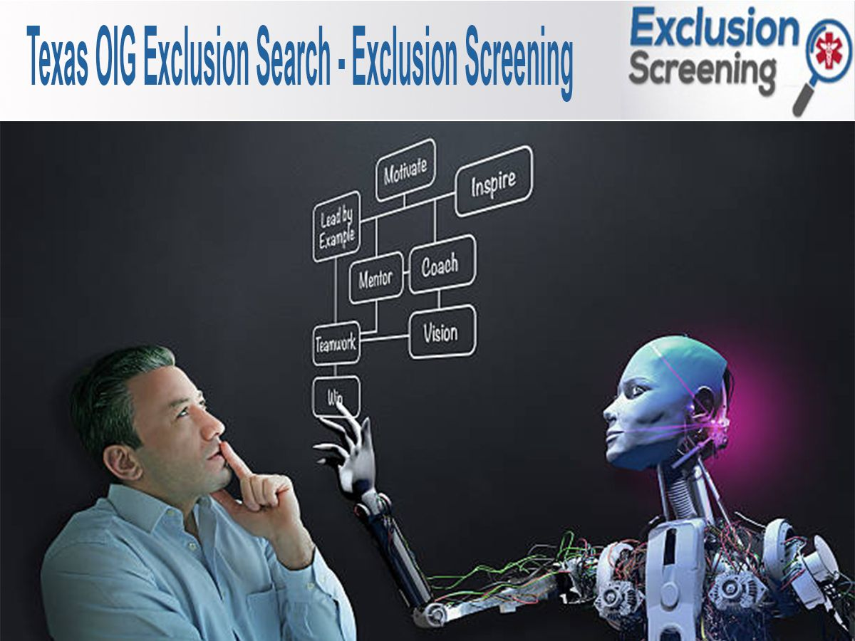 Texas OGI Exclusion search is available on the Office of