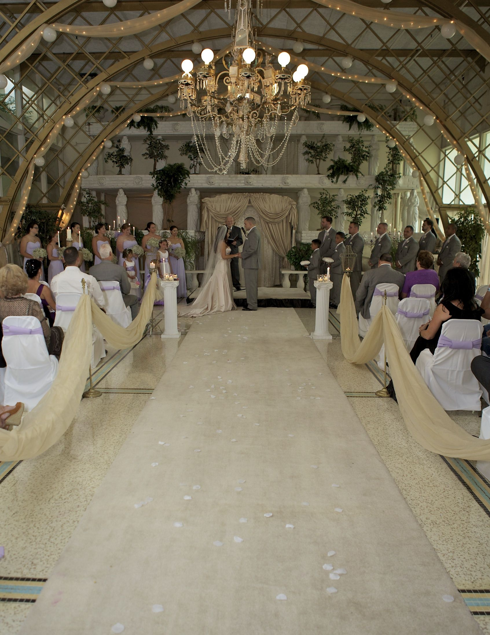 The Florida Room Of Kapok Special Events Center In Clearwater With A Garden Wedding VenuesWedding