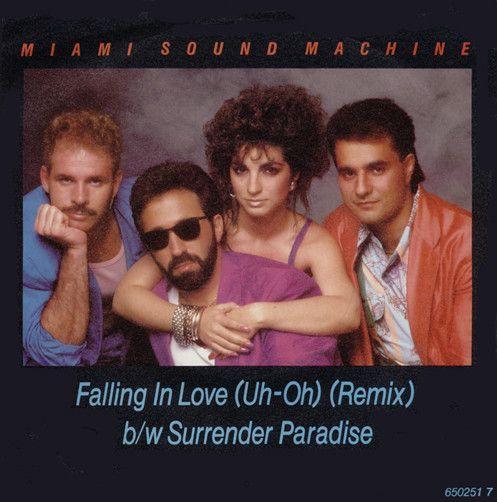 Miami Sound Machine Falling In Love (Uh-Oh) Japanese Promo