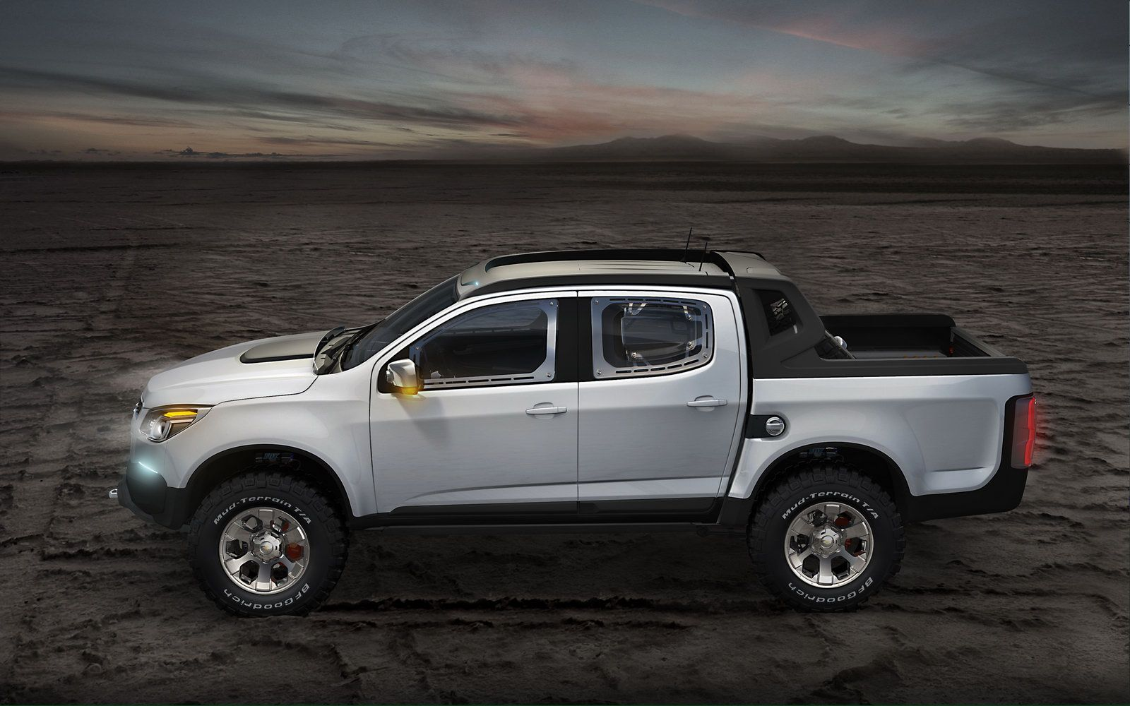 Concept trucks the rally colorado concept is looking to the future of the global