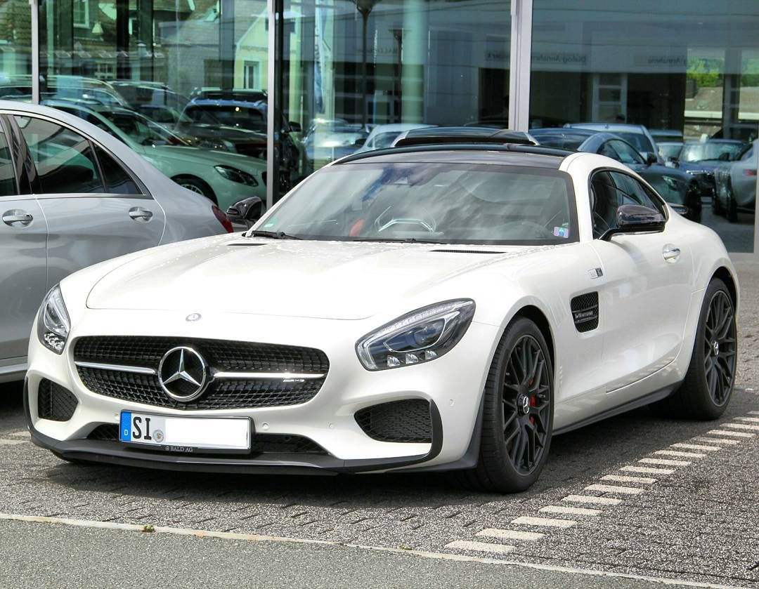 mercedes benz amg gt 39 s edition 1 spotted in siegen baldag mercedes benz amg gts white. Black Bedroom Furniture Sets. Home Design Ideas