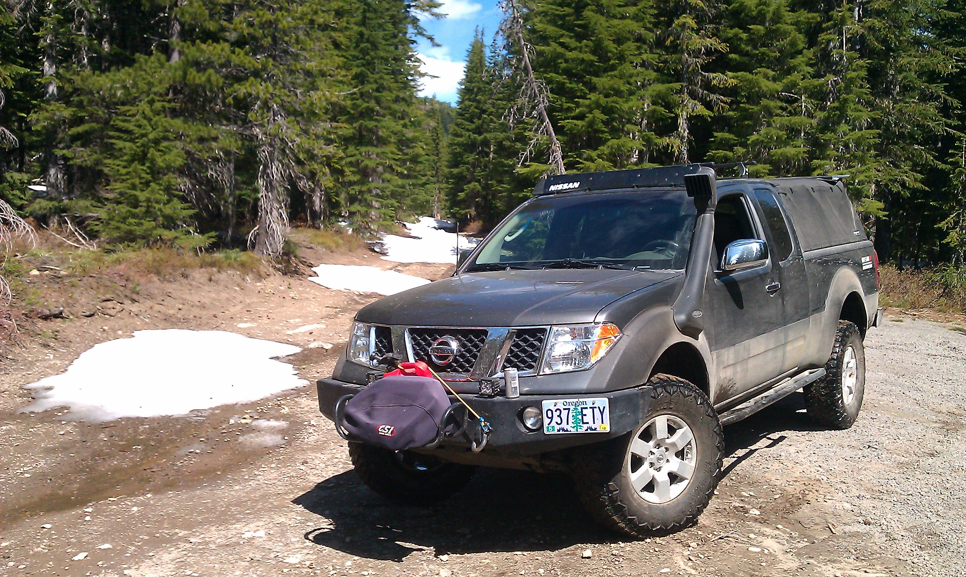 nissan frontier camper - Google Search