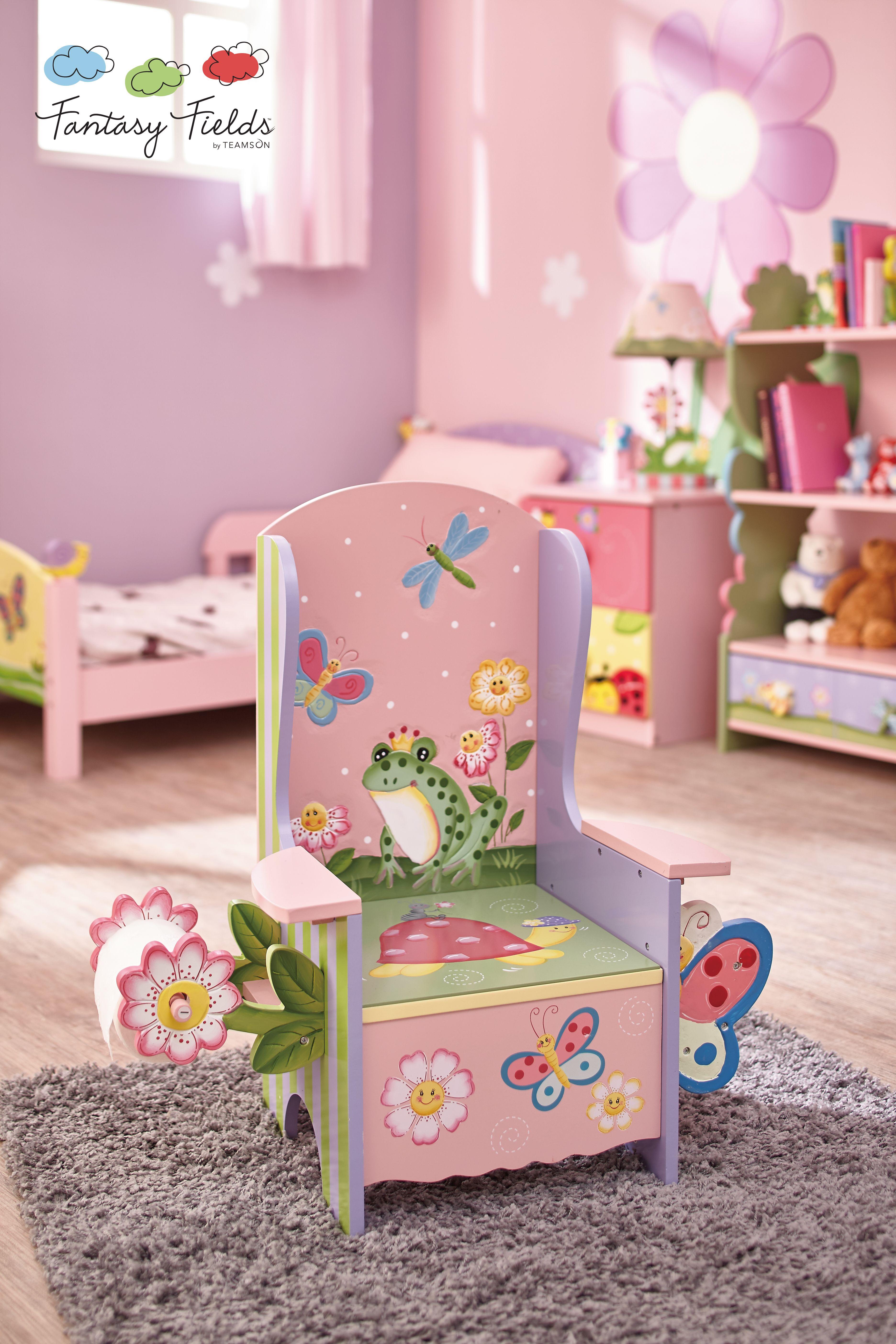 Fantasy Fields Magic Garden Potty Chair Kids Furniture Wooden Sofa Designs Decoupage Furniture