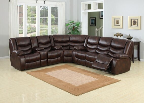 Ac Pacific Pulsar 3 Pc Leather Reclining Sectional Sofa Sectional Sofa Leather Reclining Sectional