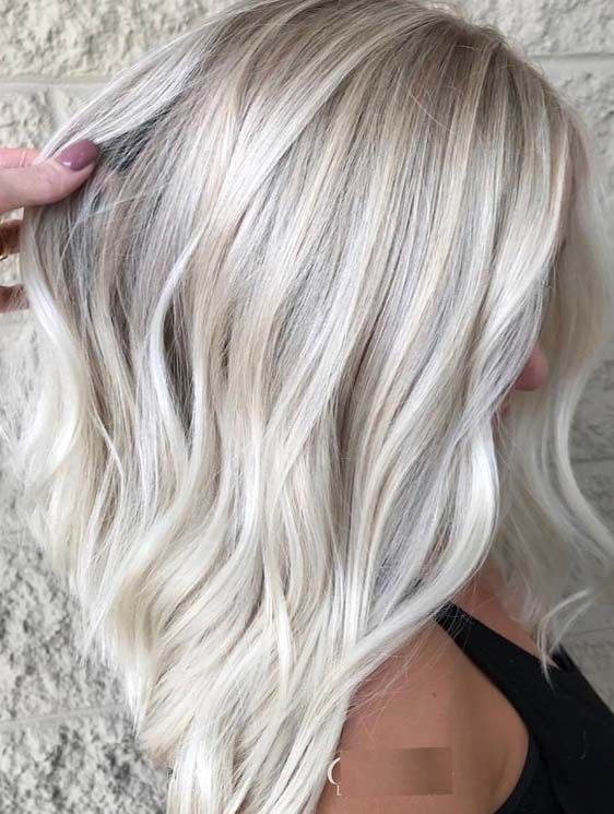 Bright And Shiny Blond Highlights To Create In 2018 Hair