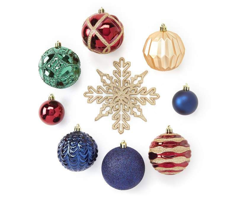 Christmas Ornaments 2021 Series End 24 Pieces Shatterproof Treasured Traditions Ornament Set In 2021 Ornament Set Shiny Brite Ornaments Cheap Christmas Gifts