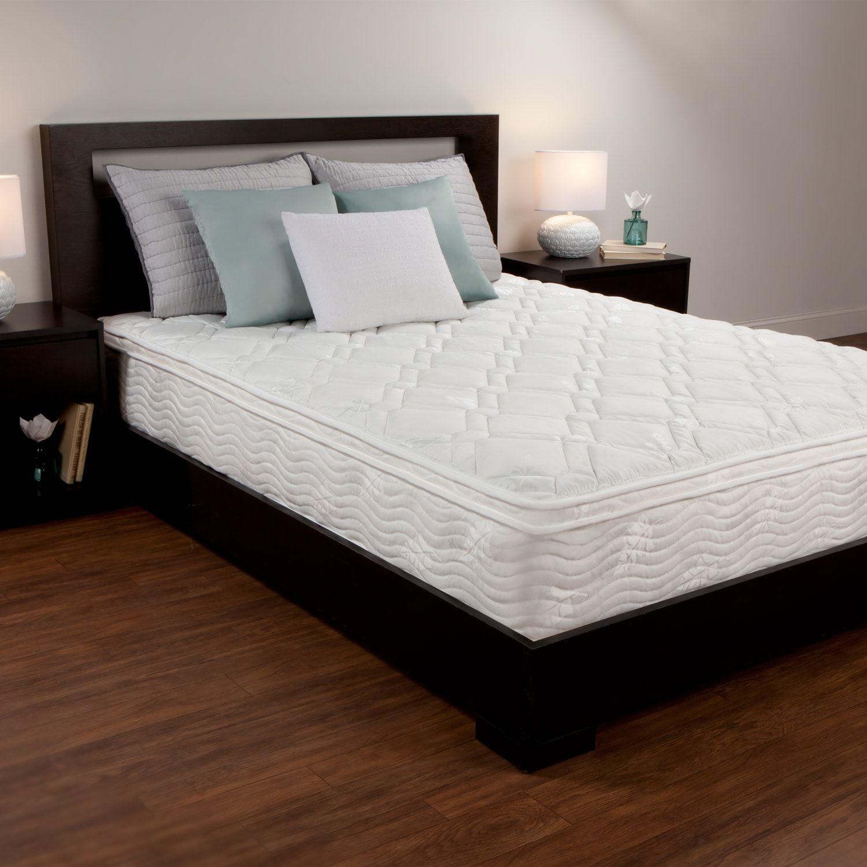 Dream Therapy 10inch Foam & Spring Coil Mattress inch,