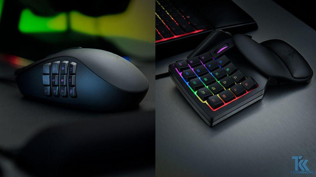 Razer Intros the Naga Trinity Gaming Mouse and Tartarus V2 Gaming