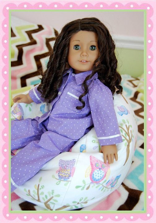 American Girl 18 Inch 15 Doll Beanbag Chair PDF Pattern 499