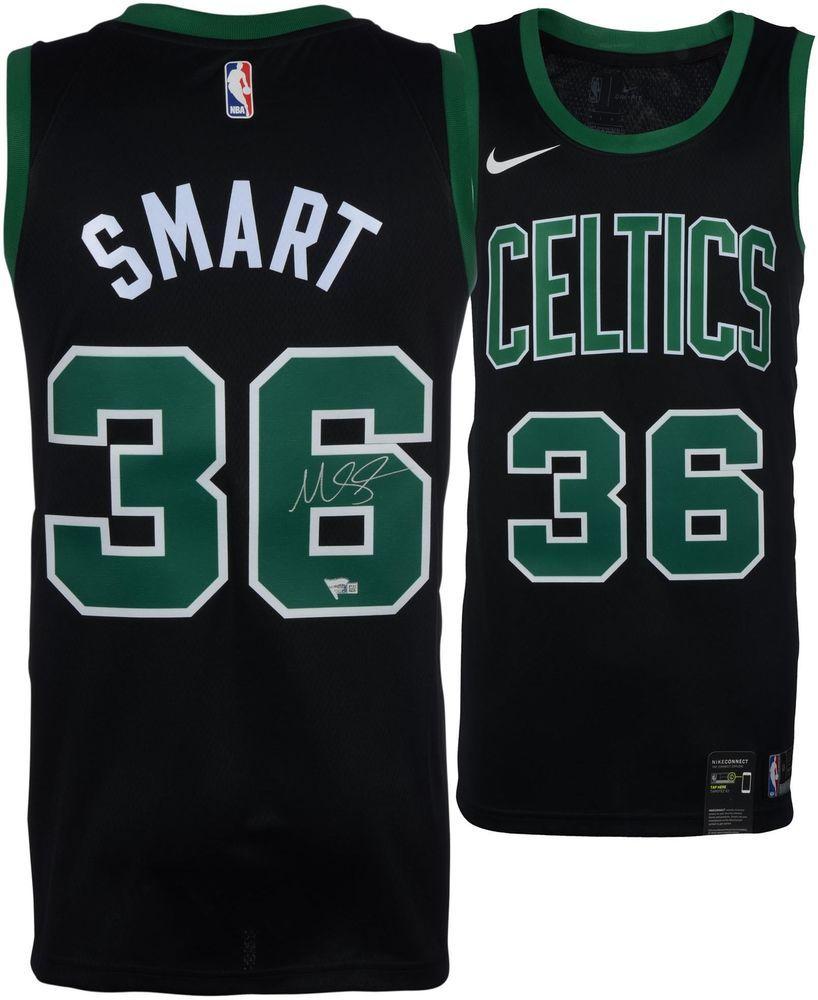 07699a7b6ab Marcus Smart Boston Celtics Autographed Black Nike Swingman Jersey   sportsmemorabilia  autograph  basketballjersey