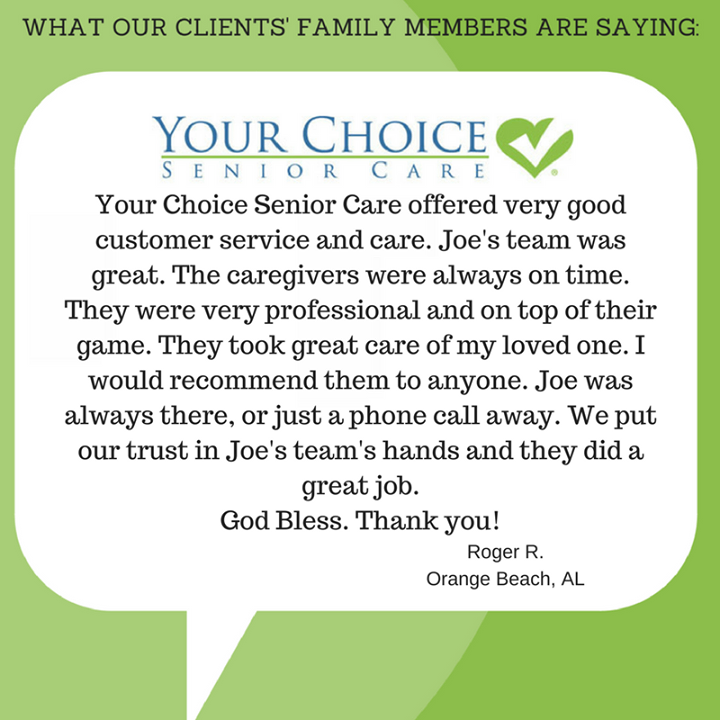 See Why Our Clients Love Your Choice Senior Care Don T Try To Go