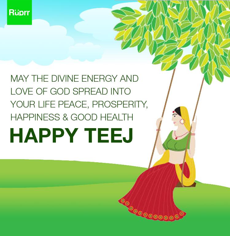 Ruprr Wishes Each One Of You A Very Happy Teej Teej