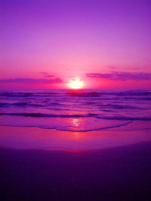 Purple Sunrise By Richie Tatum Beautiful Nature Wallpaper Purple Sunset Sky Aesthetic