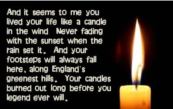 Candle In The Wind Idiom Of The Day English The Free