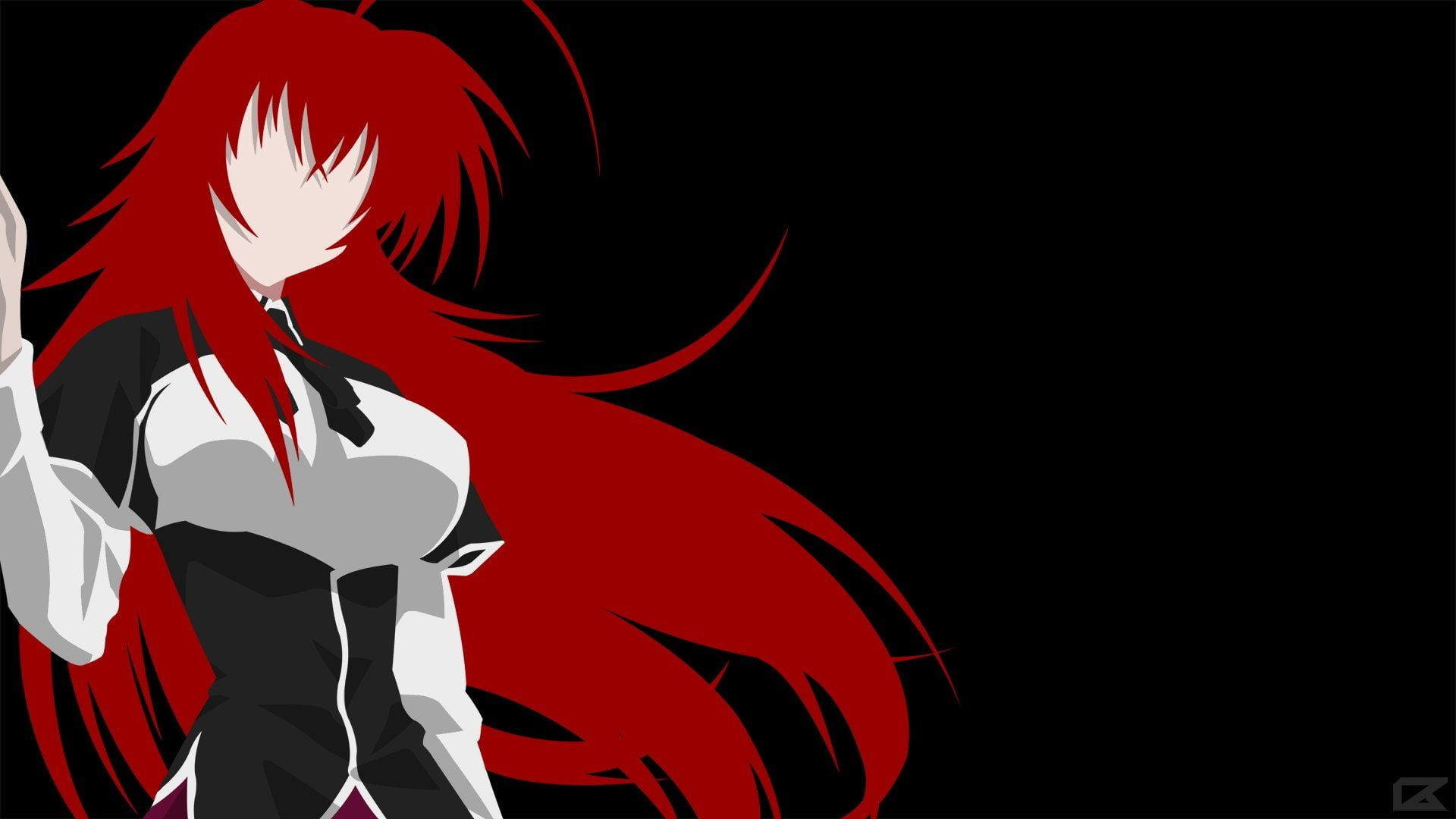Anime High School Dxd Rias Gremory 1080p Wallpaper Hdwallpaper Desktop In 2020 Highschool Dxd Dxd Anime