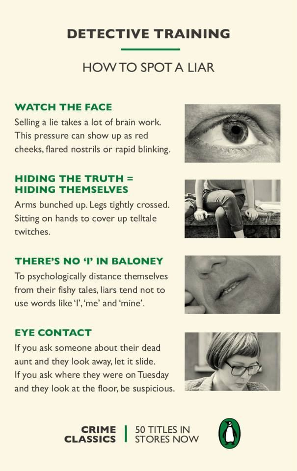 5 Signs Someone Is Lying To You   Body language, 1000 life hacks, How to  stay healthy
