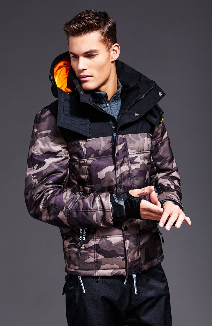 Mens Ski Jackets Amp Coats Ski Wear Accessories Superdry