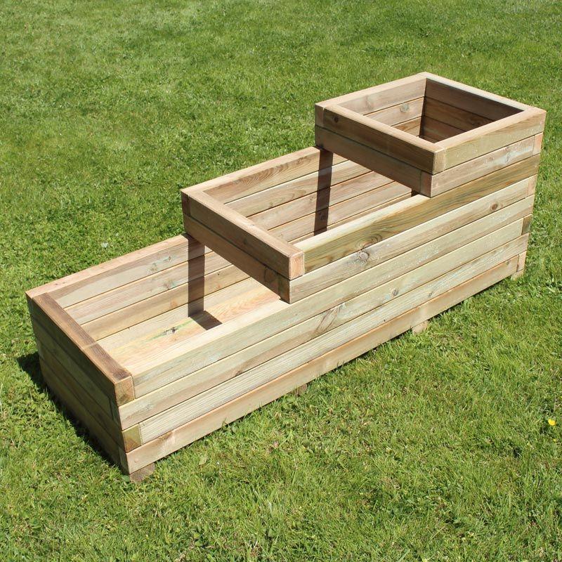 tr s d corative la jardini re rectangulaire tages alysse vous permet de d corer votre balcon. Black Bedroom Furniture Sets. Home Design Ideas