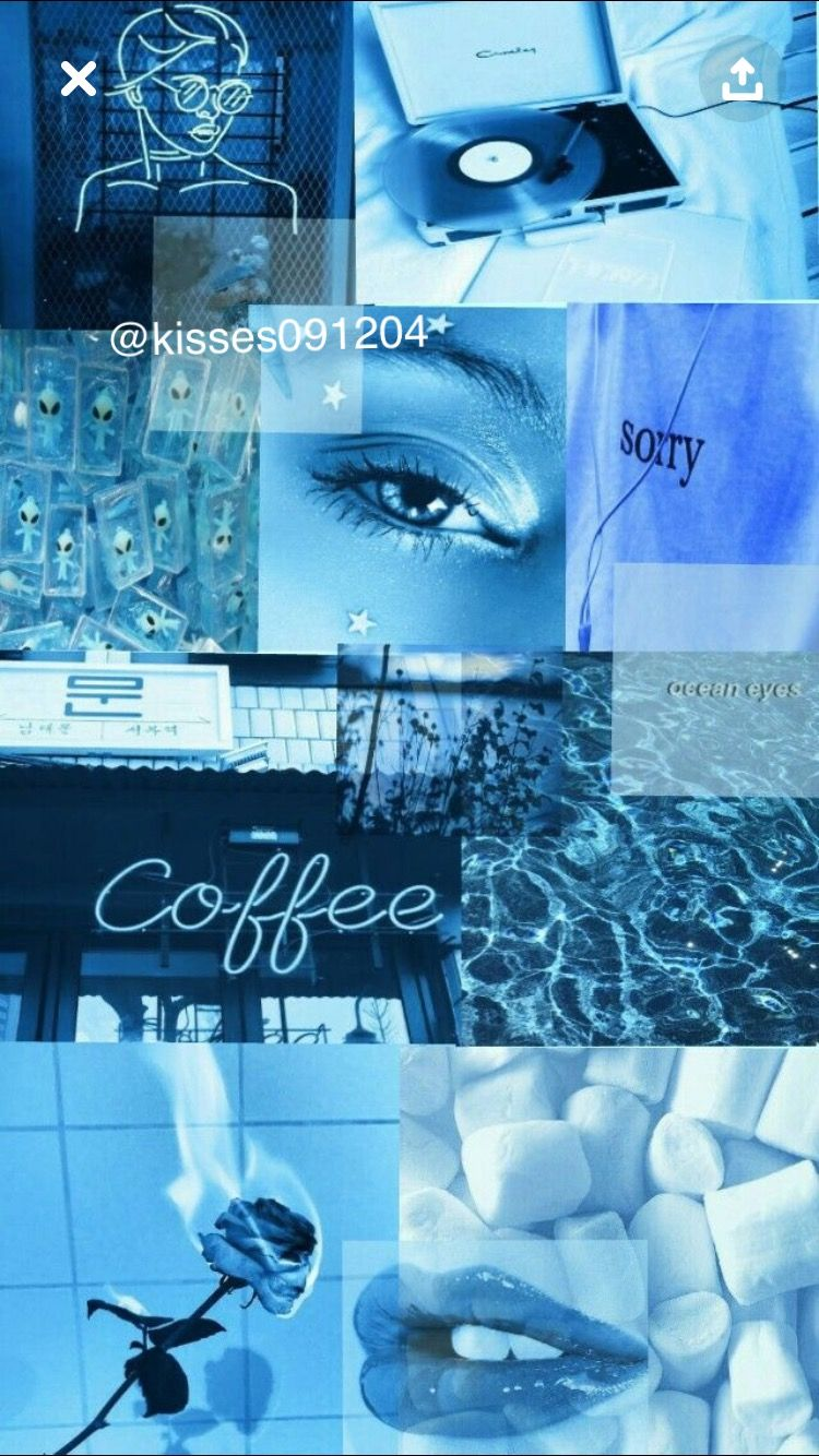Blue visco wallpaper   Blue wallpaper iphone, Pastel color ...