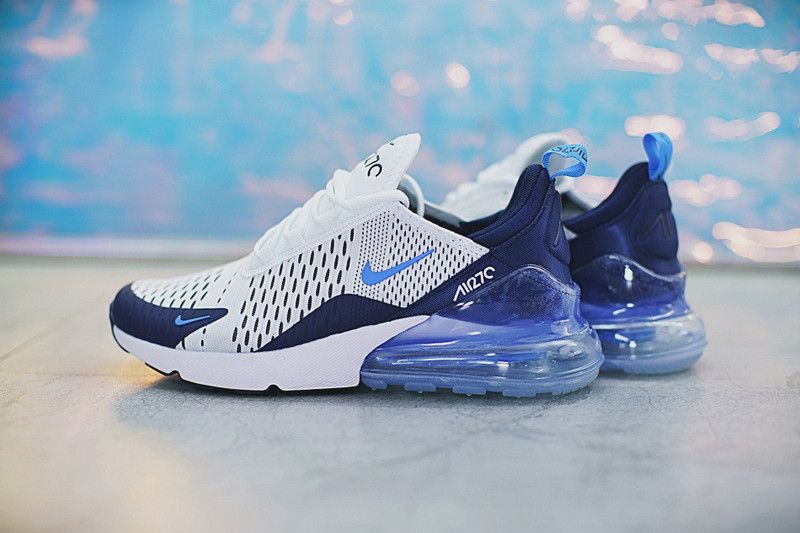 450738ab8e Where To Buy 2018 Men Nike Air Max 270 White Ice Blue AH8050-144 ...