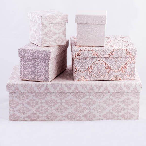Säilytyslaatikkosetti Tiffany (4kpl) UUTUUS vko 49 - Piironki verkkokauppa