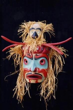 Kwomokwa mask ( king of the sea world)
