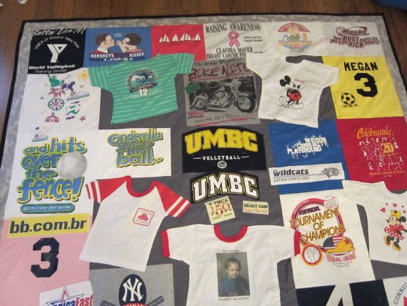 TShirt Blanket by GPsPlace on Etsy, $150.00