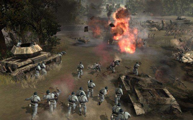 скачать игру Company Of Heroes 1 через торрент бесплатно на русском - фото 8